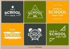Free vector Back to School Badges #13259