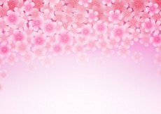 Free vector Background with cherry blossoms #18440