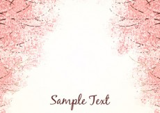 Free vector Background with cherry blossoms #17111