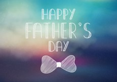 Free vector Blurred fathers day card #18129