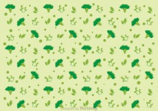 Free vector Broccoli Pattern Vector #13795