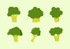 Free vector Broccoli Vector Illustrations Free #15909