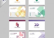 Free vector Business card pack #19334
