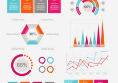 Free vector Business infographic set #16523