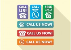 Free vector Call Us Now Icons Vector Free #17527