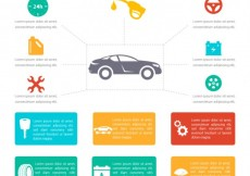 Free vector Car infographic #14263