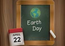 Free vector Chalk Drawn Earth Day #15428