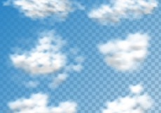 Free vector Clouds collection #17117