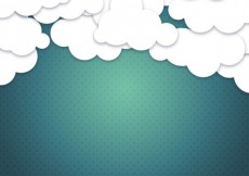 Free vector Cloudy sky background #13438