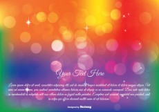 Free vector Colorful Abstract Bokeh Illustration #16576