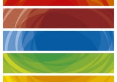 Free vector Colorful banners collection #14495