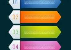 Free vector Colorful infographic banners collection #14167