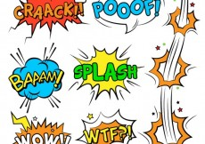 Free vector Comic sound effects #13630