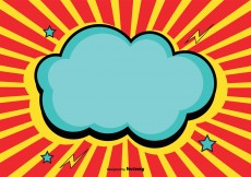 Free vector Comic Style Background Illustration #13229