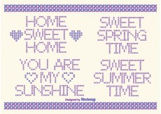 Free vector Cross Stitch Vector Style Text Labels #20163