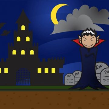Free vector Dracula Background Vector #17779