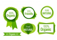 Free vector Eco friendly labels #14826