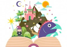 Free vector Fairy tale book #17203