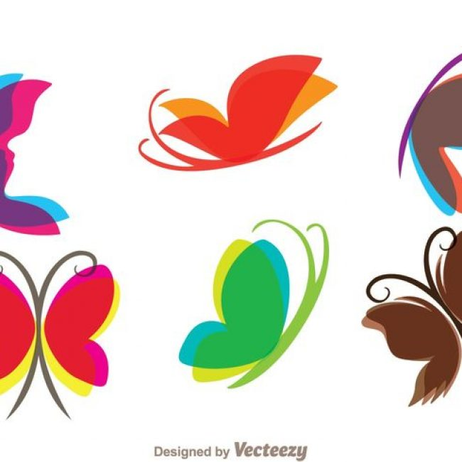 Free vector Flying Butterfly Icons #16460