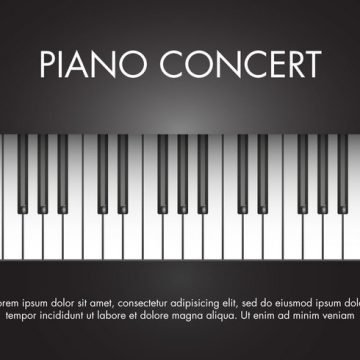 Free vector Free Classic Music Piano Vector #18569