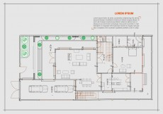 Free vector Free Floor Plan Vector #13261