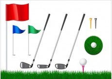 Free vector Free Golf Vector Elements #15861