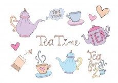 Free vector Free High Tea Vector Series #15249