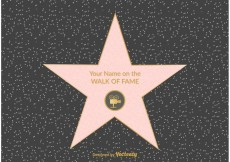 Free vector Free Hollywood Walk Of Fame Vector #19321