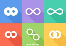 Free vector Free Infinite Loop Vector Logos #16680