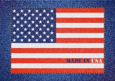 Free vector Free Made In Usa Vector Denim Design #13511