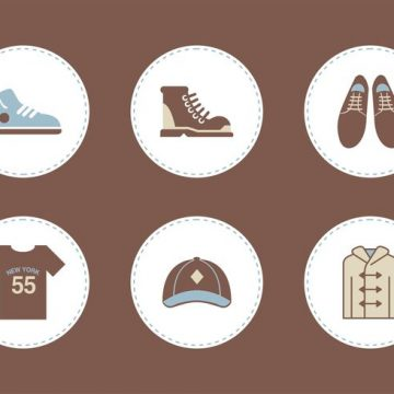 Free vector Free Mens Clothing Vector Icons #16912