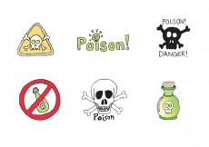 Free vector Free Poison Vector Series #19727