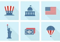 Free vector Free USA Vector Icons #16900