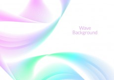 Free vector Free Vector Wave Background #18646