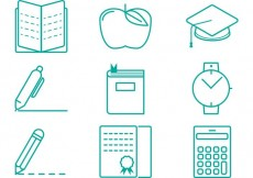 Free vector Graduate Vector Icons #15485