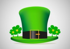 Free vector Green hat for st patricks day #20118