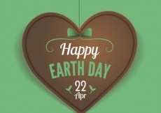 Free vector Greeting card for earth day #16549