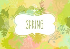 Free vector Hand painted spring background #15198
