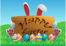 Free vector Happy Easter Vector Background #17124