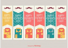 Free vector Happy Father's Day Labels #13205