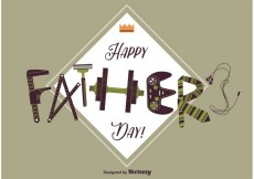 Free vector Happy Fathers Day Card #15151