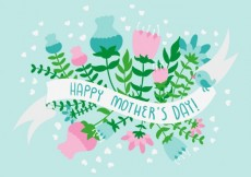 Free vector Happy mothers day #19270