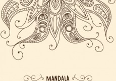 Free vector Henna background #12993