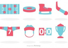 Free vector Hockey Vector Icons #16145