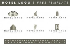 Free vector Hotels Logo Templates Vector Free #14981