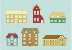 Free vector Houses Vector Icons #20087