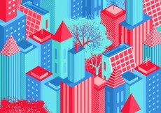 Free vector Isometric city #13772