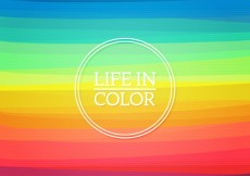 Free vector Life in color background #12463