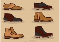 Free vector Man Shoes Vector Icons #17160