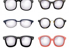 Free vector Modern glasses collecrion #14813
